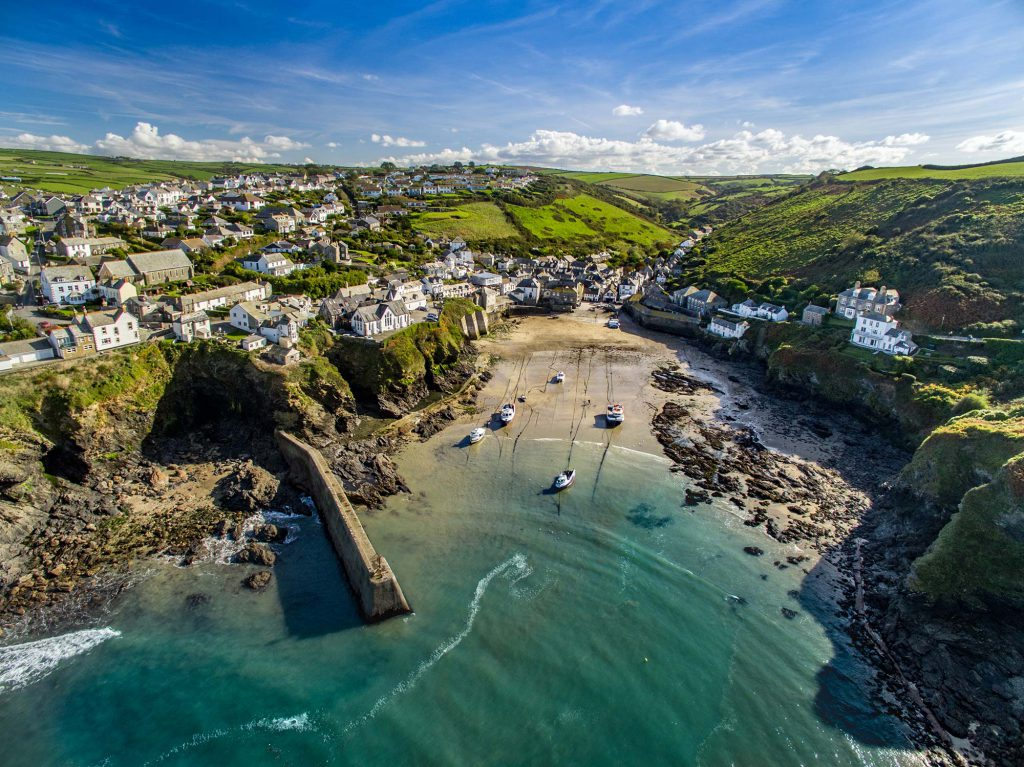 Stock Aerial Video Cornwall