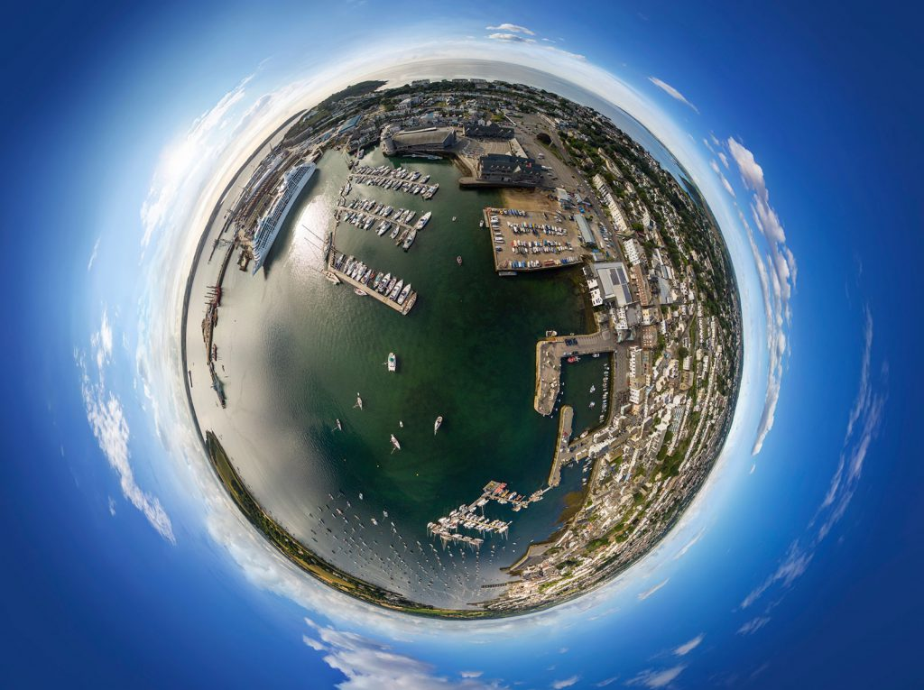 360 aerial VR tours cornwall