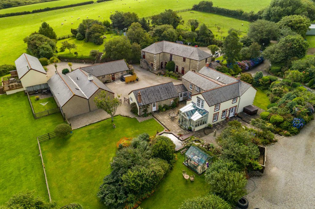 Aerial Property Photography Cornwall 55
