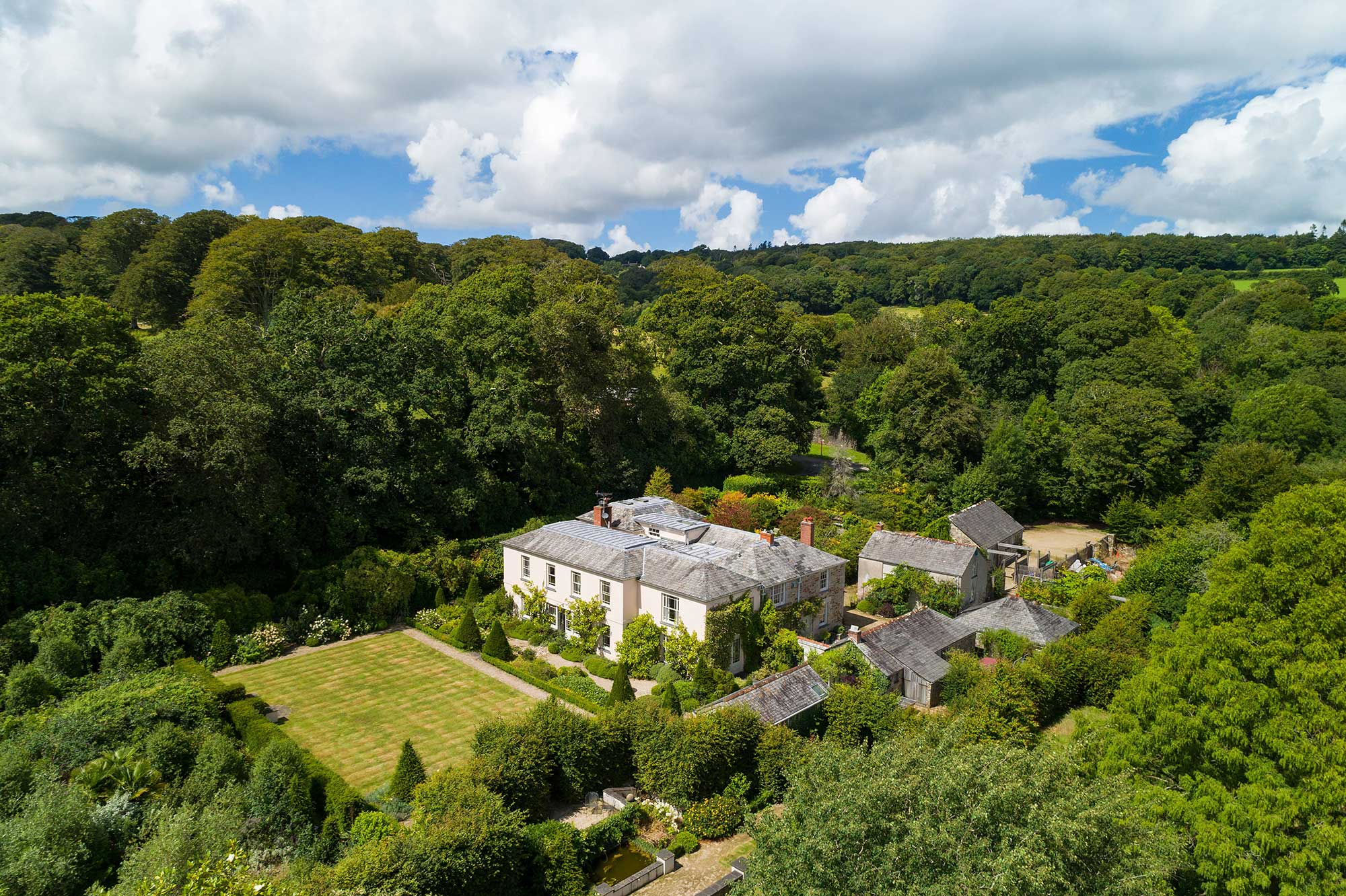 Aerial Property Photography Cornwall 50