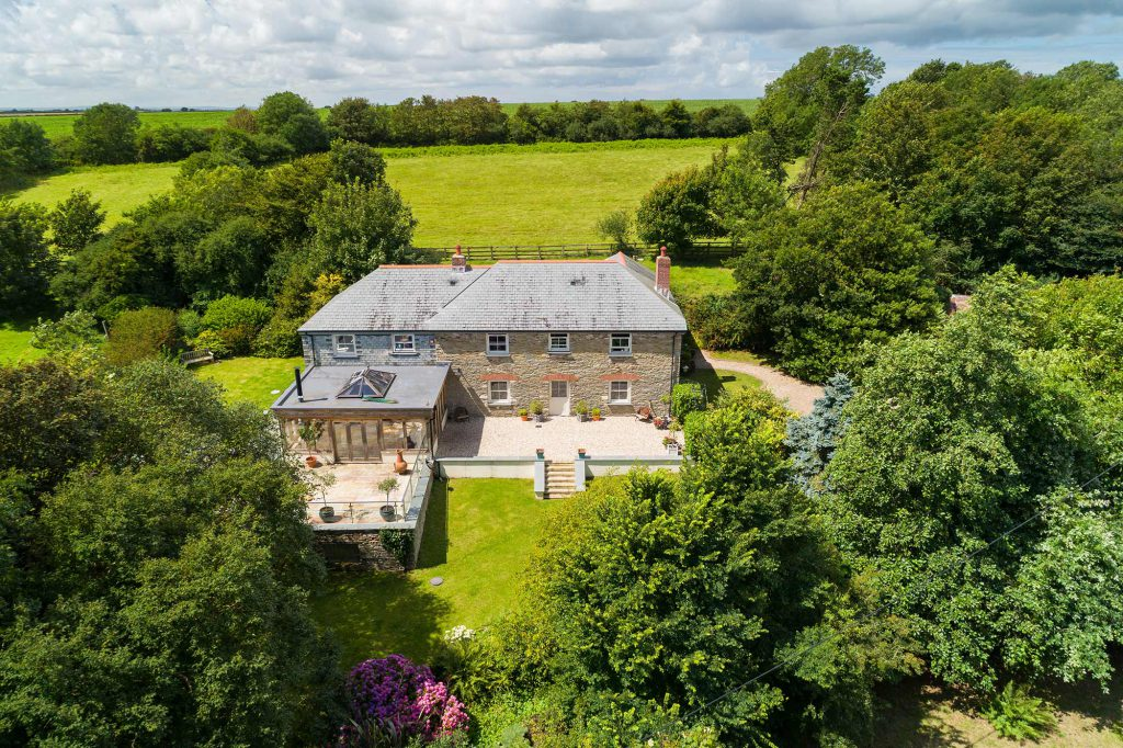 Aerial Property Photography Cornwall 44