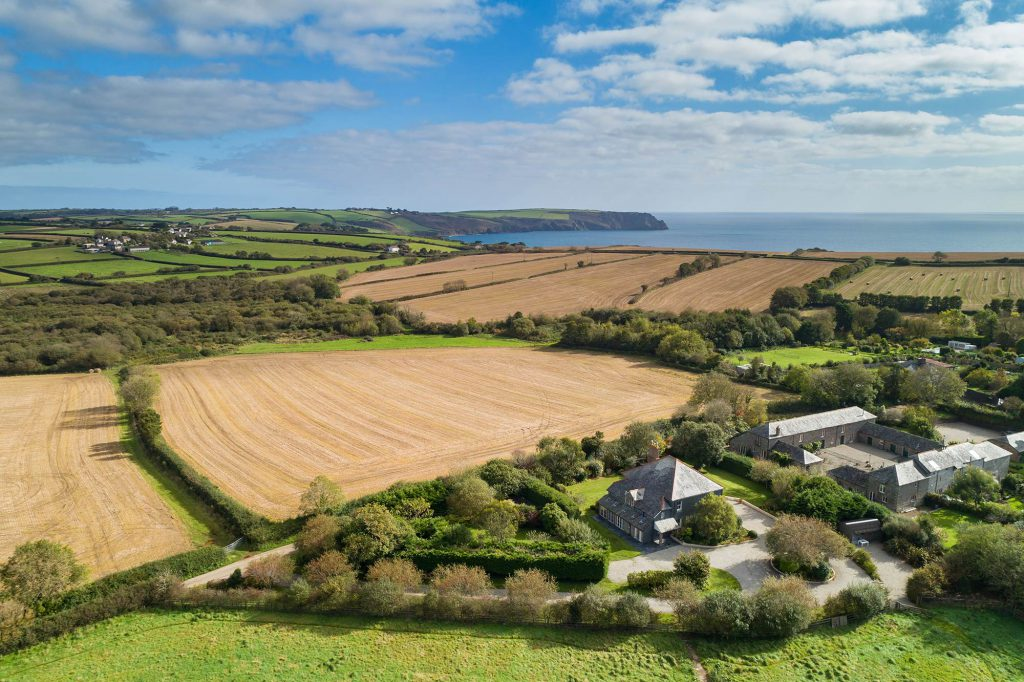 Aerial Property Photography Cornwall 36
