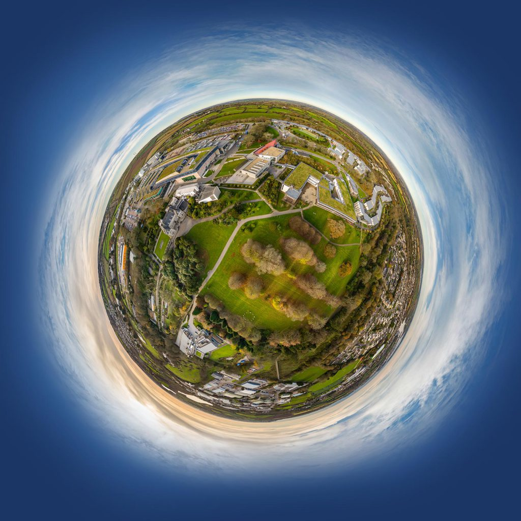 360 tour of Falmouth University.