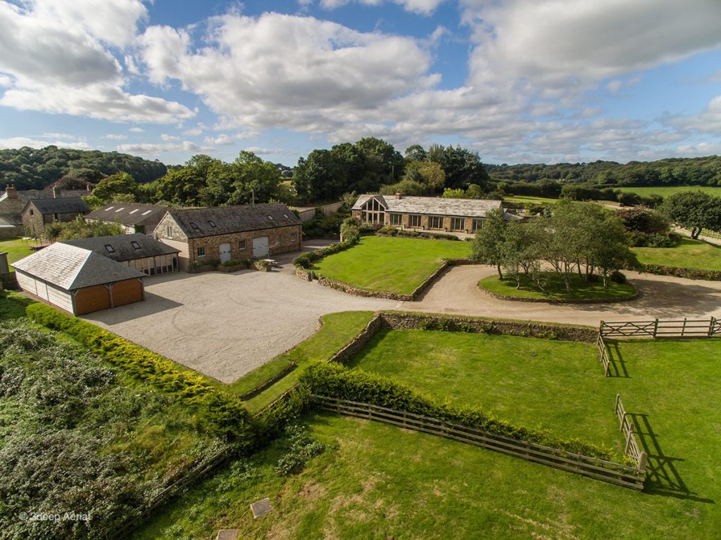 Aerial Property Photography Cornwall 13