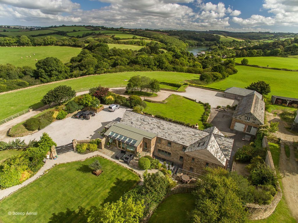 Aerial Property Photography Cornwall 10
