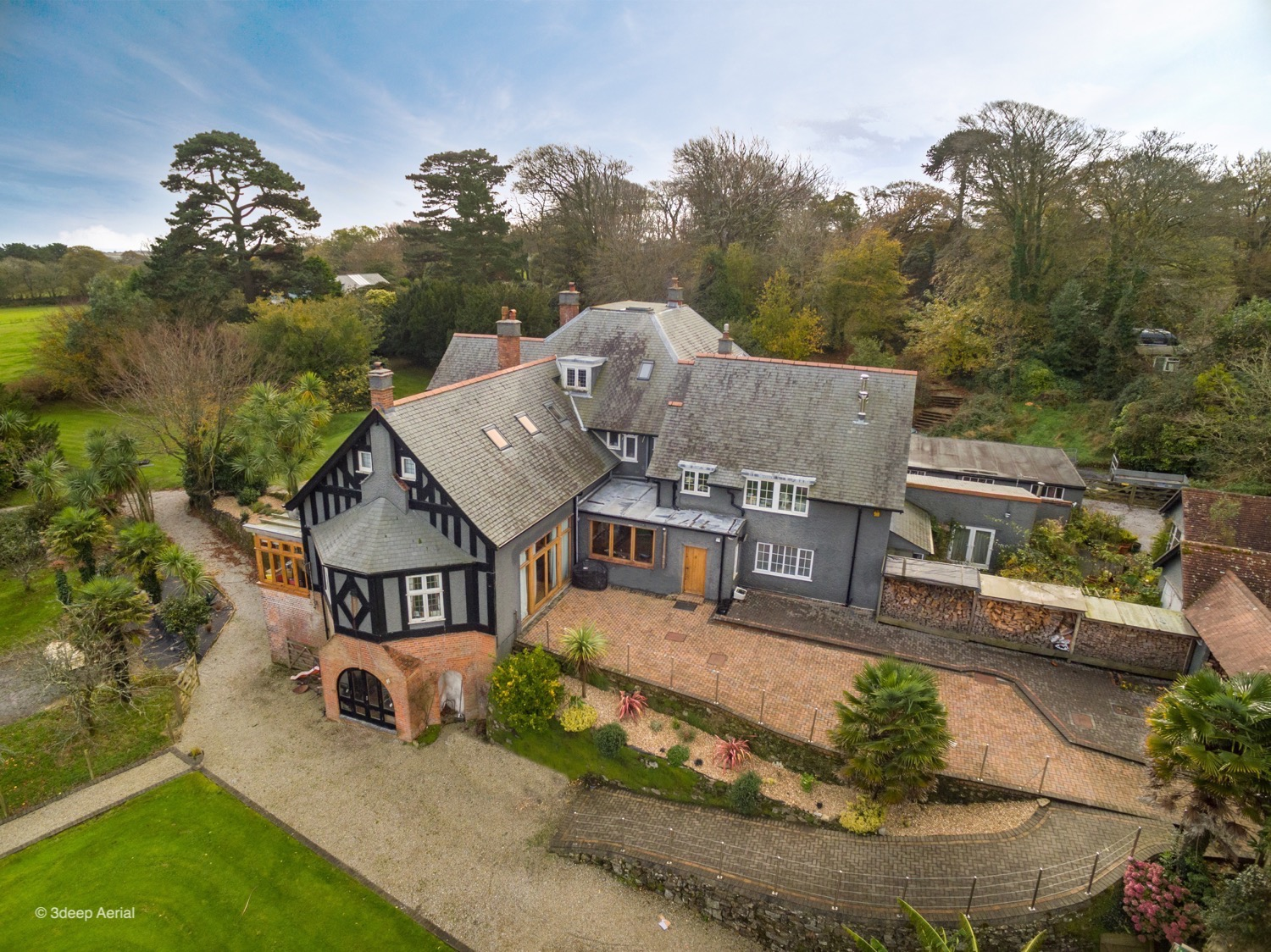Aerial Property Photography Cornwall 09