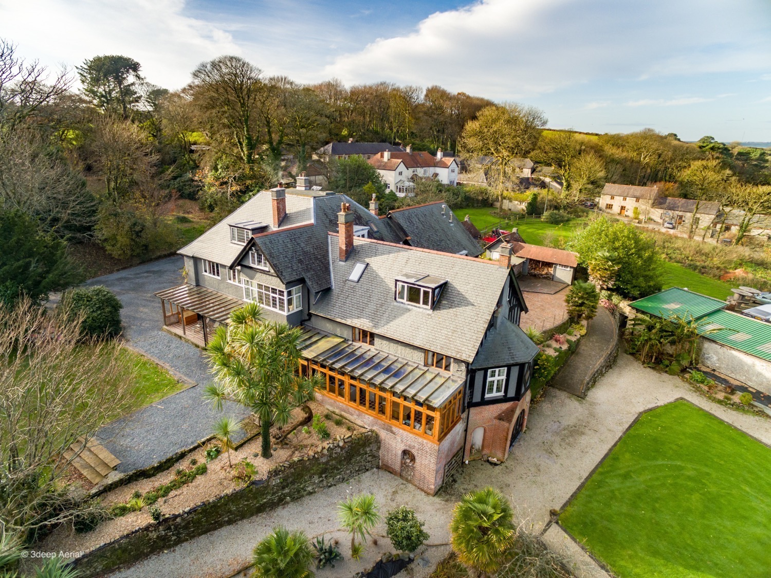 Aerial Property Photography Cornwall 02