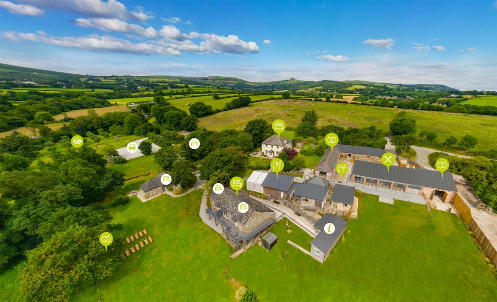 360 tour for hotel holiday parks cornwall