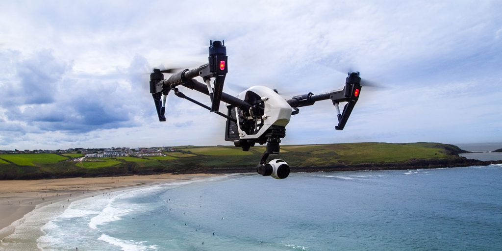 Aerial drone photography video cornwall