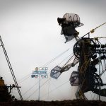 Man Engine Aerial Event Filming Cornwall