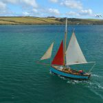 Marine drone photography cornwall