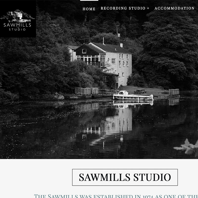 Wordpress Designer Cornwall Sawmills